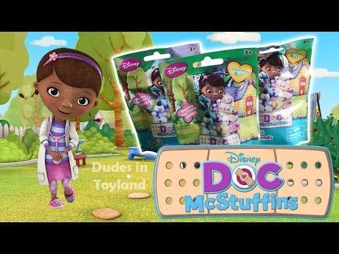 Doc McStuffins toys Disney blind bags review videos Doctora Juguetes 文档mcstuffins