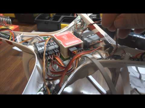 DJI Phantom Spektrum AR8000/TM1000 Installation
