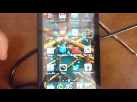 Captura de pantalla con orange daytona / huawei ascen G510