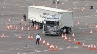 امهر و أفضل سائقي الشاحنات في العالم !! #2