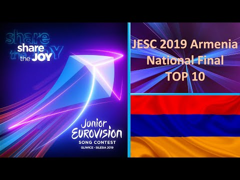 Junior Eurovision 2019 - Armenia National Final - TOP 10
