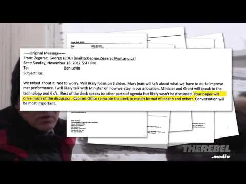 EXCLUSIVE: Proof of Ben Levin's Involvement in Sex-Ed Program