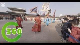 [360 VR] 경복궁 수문장 교대식(Korea royalpalace chief gatekeeper rotation)