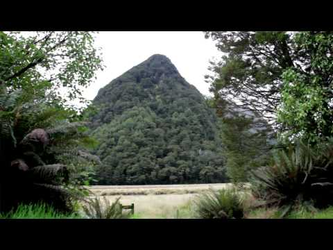 New Zealand Travel. The Routeburn Track. Fiordland National Park, Southland, New Zealand.