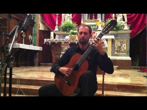 GIULIO REGONDI Révèrie, notturno op.19 - Enea Leone chitarra