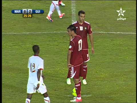 Maroc 0-2 Guinée but ISMAEL BANGOURA