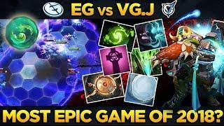 EG vs VG.J - ONE OF THE BEST GAMES EVER IN DOTA 2 HISTORY!