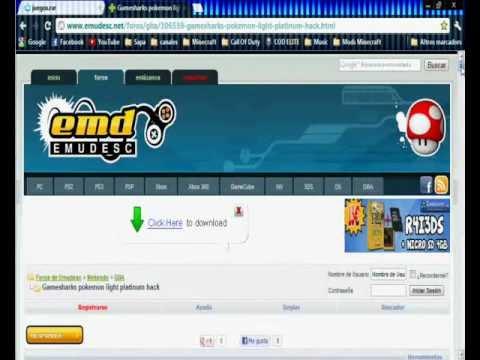 Descarga Pokemon Light Platinum (PC) + Como poner Trucos