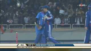 IND vs ENG | ODI - 3 | India Batting - Highlights