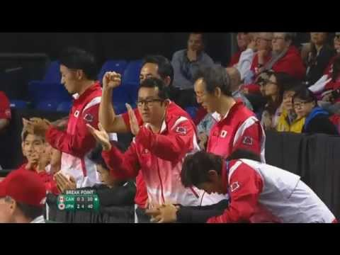 Highlights: Vasek Pospisil (CAN) v Kei Nishikori (JPN)