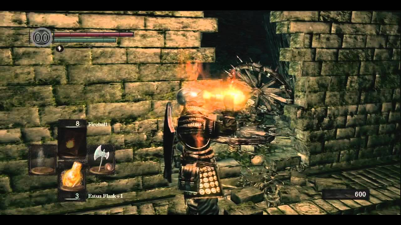 dark souls how to get to blacksmith in catacombs