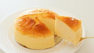 ヨーグルトスフレケーキの作り方 Yogurt Souffle Cake|HidaMari Cooking