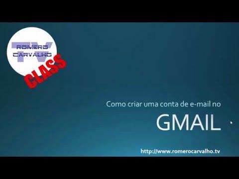 Como criar uma conta de e mail gratuito no gmail