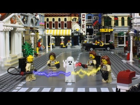 LEGO BRICKFILM - Don't Mess With Ghosty ! - Halloween story