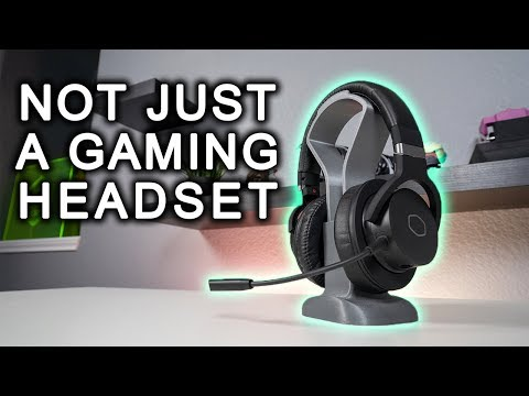 Cooler Master MH752 7.1 Gaming Headset Review and Mic Test