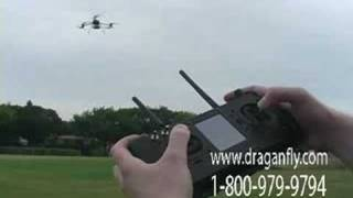 Trying to Crash a Draganflyer X6 Helicopter