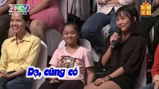 Con gái theo ba đi hẹn hò gặp được cô giáo tiểu học với hy vọng được thương con chồng như mẹ ruột