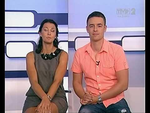 Anna Popek upskirt Lotko TV