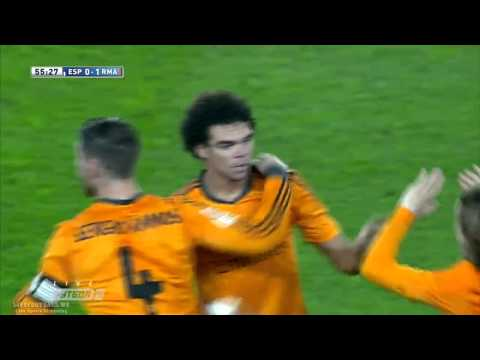 Espanyol vs Real Madrid 0-1 Goal (Pepe) & Full Match Highlights (La Liga 2014) HD