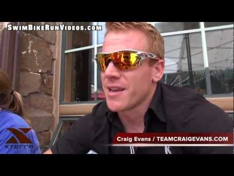 Craig Evans, 2012 XTERRA USA Championship, Post Race Interview