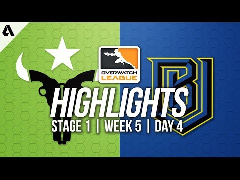 Boston Uprising vs Houston Outlaws | Overwatch League Highlights OWL Week 5 Day 4