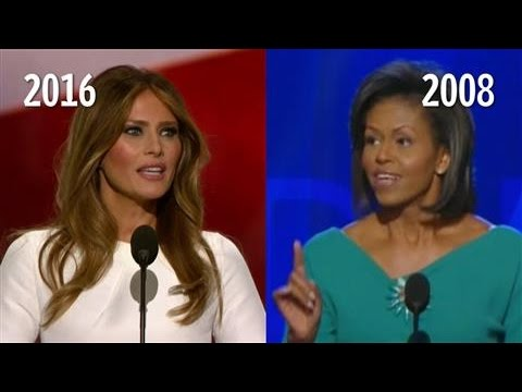 Melania Trump/Michelle Obama Speech Similarities