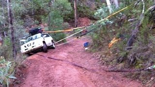A Victorian High Country 4x4 Adventure with near Disaster and recovery