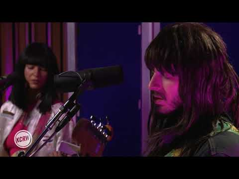 "Khruangbin performing ""Mr. White"" Live on KCRW"