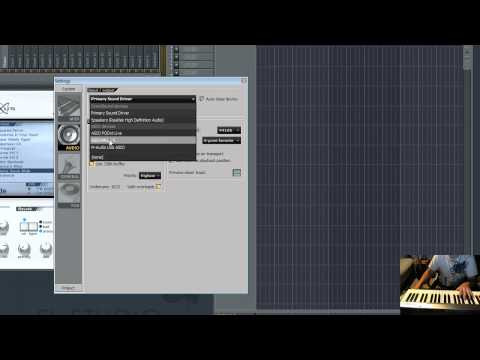 FL Studio MIDI Keyboard Setup Tutorial and TIPS! - ELIMINATE DELAY