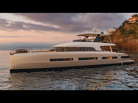 Lagoon Seventy 8 catamaran Walkthrough at Cannes 2017