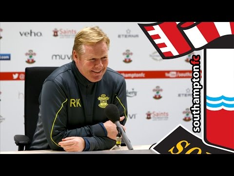 PRESS CONFERENCE: Ronald Koeman pre-Manchester United