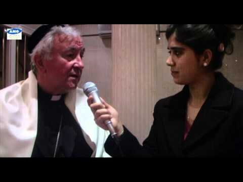 The Most Reverend Lord Vincent Nichols with Taru Sugandha Dhir in London.avi