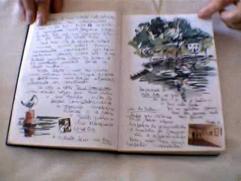 cahier de voyage carnet de dessins travel book stela barreto youtube. Black Bedroom Furniture Sets. Home Design Ideas