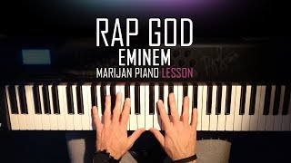 How To Play: Eminem - Rap God | Piano Tutorial Lesson