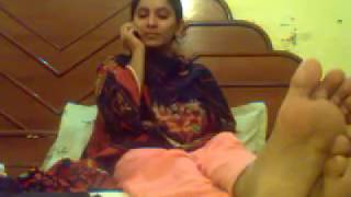 Indian college student webcam sex with BF