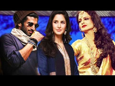 Katrina Kaif, Aditya Roy Kapur & Rekha in 'Fitoor': FIRST LOOK
