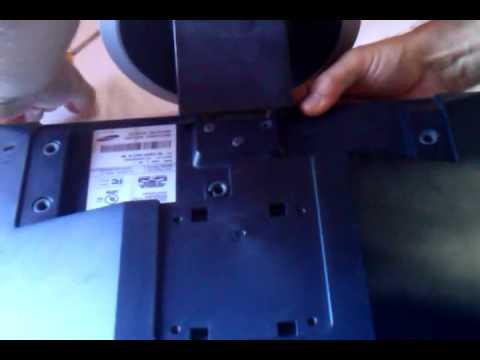 Manutenção do Monitor Samsung 740N parte 3