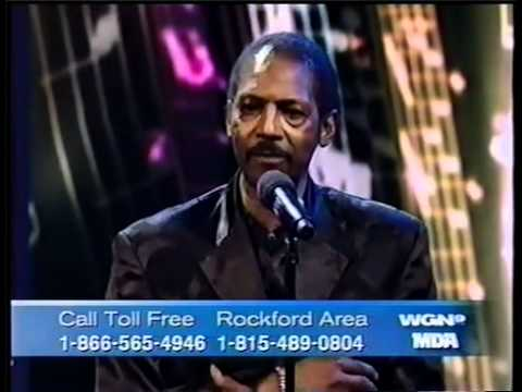 Teddy Davis Jr  singing with the Drifters on Jerry Lewis Telethon...