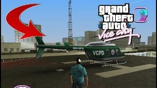 GTA Vice City-How To Get Police Helicopter