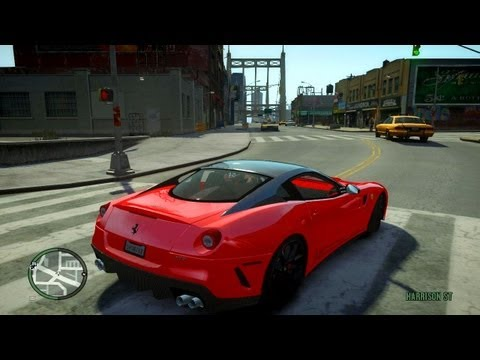Ferrari 599 GTB Car Testing / Presentation - Vehicle MOD for GTA IV