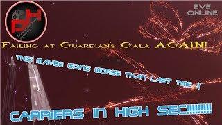 Failing at Guardian's Gala AGAIN! | EVE Online
