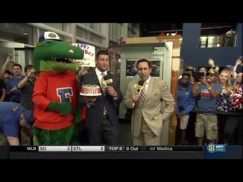 SEC Network Launch with Tim Tebow @ The Swamp