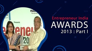 Entrepreneur India Awards 2013   Part I