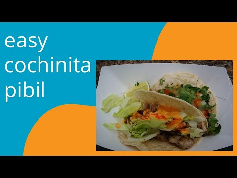 Easy Cochinita Pibil by A Cook Not Mad