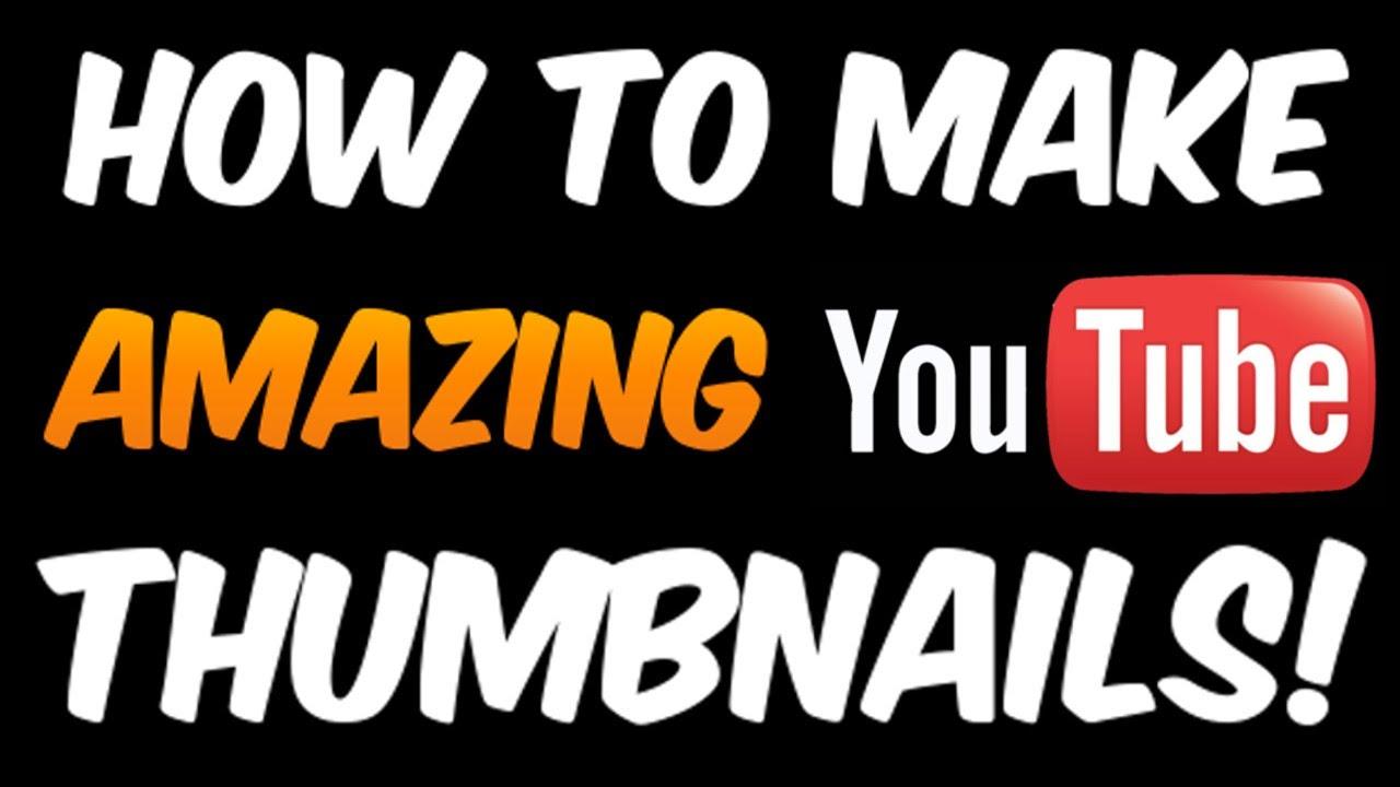 Thumbnails erstellen kostenlos und einfach (Tutorial) Ohne
