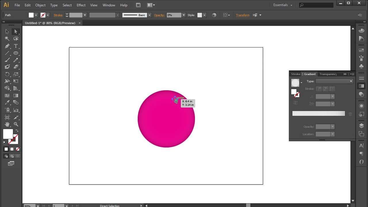 Transparent Backgrounds in Illustrator images