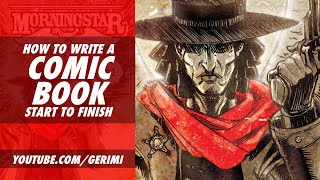 Writing a Comic Book from Start to Finish: Gerimi Drawing Comics #125