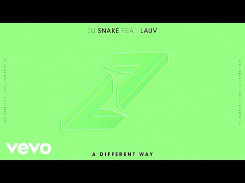 DJ Snake, Lauv - A Different Way (Audio)