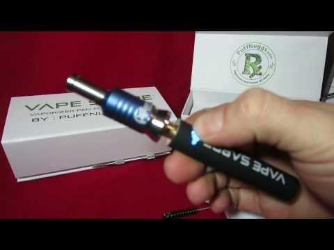 Vape Sabre Vaporizer Pen - New Model Vape Sabre Review
