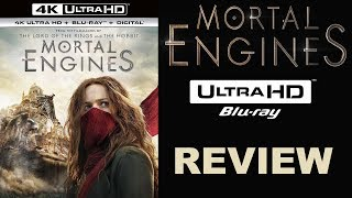 MORTAL ENGINES 4K Blu-ray Review | The New Reference Standard?
